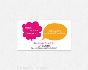 SLP business cards - thick - glossy or matte - color both sides - FREE UPS ground