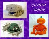 RESERVED Custom Order for James King, Peacock Spider amigurumi