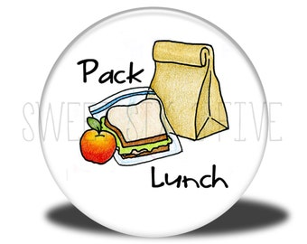 Pack Lunch - Chore Magnet