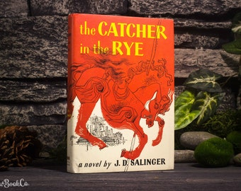 Hollow Book Safe - Vintage (1951) Catcher in the Rye