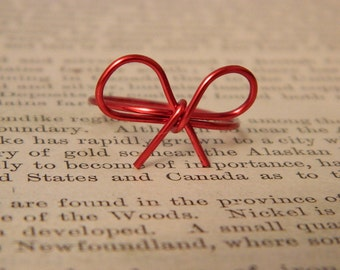 Red String of Fate Ring Valentines Day Gift