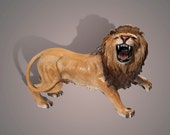 """BRONZE """"The Lion"""" Amazing Detail!!! Limited Edition Sculpture by BARRY STEIN"""