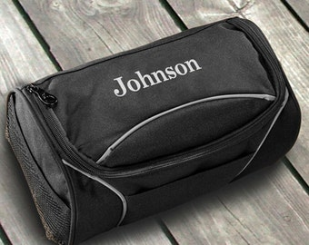 Personalized Hanging Canvas Travel Bag