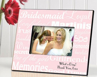 Bridesmaid Frame - Colors