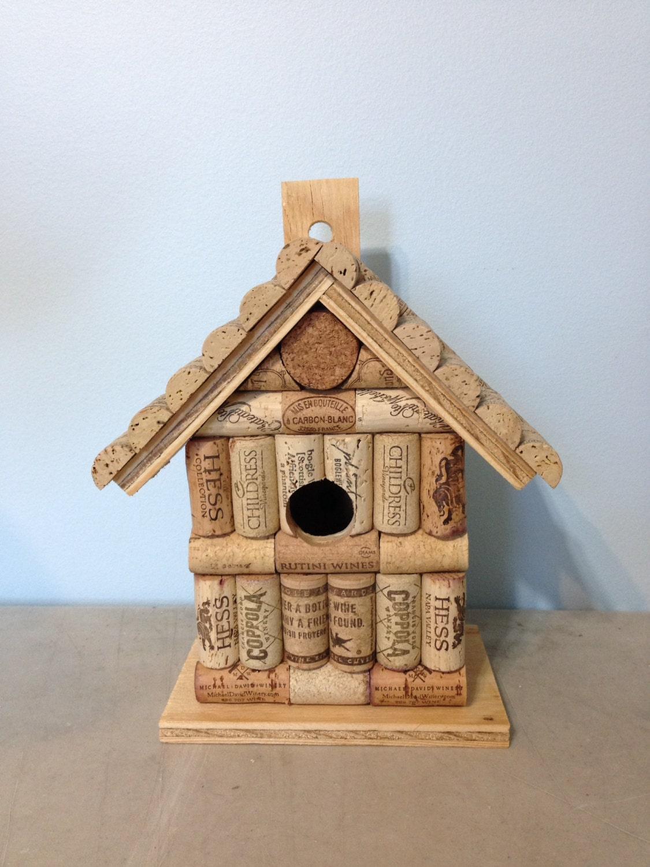 bouchon de vin et de la maison d 39 oiseau par. Black Bedroom Furniture Sets. Home Design Ideas