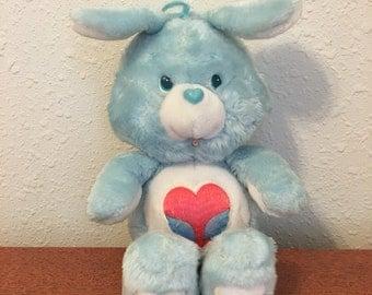 Care Bear Cousin, Swift Heart, Blue Rabbit Care Bear