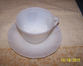 MacBeth Evans American Sweetheart Monax Cup and Saucer