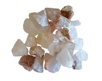 Clear Quartz Untumbled stones - 1 lb., Bulk clear quartz, Crystal quartz, Crown chakra, Untumbled quartz, Raw quartz, Jewelry making