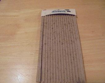 "6 pkg. 12""x18"" brown corrugated paper"