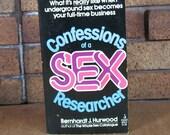 Confessions of a Sex Researcher by Bernhardt J. Hurwood - Vintage PB 1st Edition