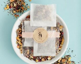 Wedding Bridal Shower Favor: Bath Teas 3-pack, lavender bath soak