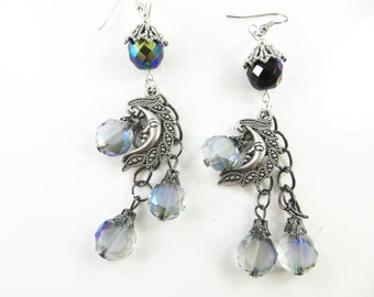 Gypsy moon earrings
