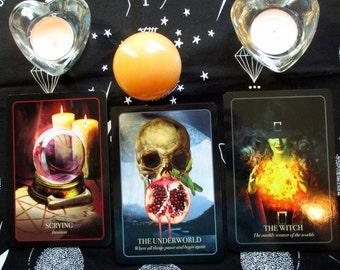 THREE CARD Halloween Oracle Reading - Seasonal Divination