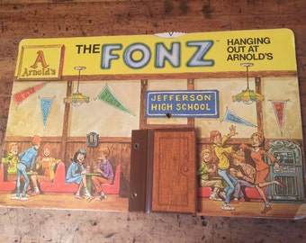 Vintage Store Display-The Fonz-Happy Days