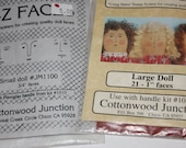 rubber stamp Doll Faces Kit for your Dollmaking craft projects Cottonwood Junction