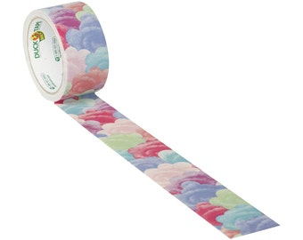 Cotton Candy Colored Clouds Duct Tape | Duck Brand Tape |