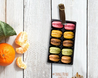 Delicious Macaroon Personalized Luggage Tag