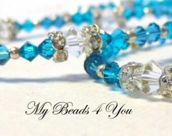 Beaded Bracelet, Crystal Beaded Necklace, Seed Bead Jewelry, Beaded Jewelry, Beaded Necklace, Beaded Necklace Set, Gift Set
