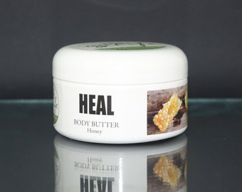 Organic HEAL Whipped Body Butter with Shea Butter and Honey