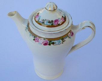 J&G Meakin Jacobean Ware Sol Registered Vintage Coffee Pot Vintage Teapot Vintage Serving Vintage Kitchen Vintage Table Vintage Housewares