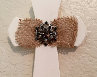 vintage brooch cross