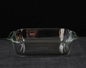 Pyrex Baking Dish Clear Glass 222 2 Qt 2L 8 x 8 x 2 Square