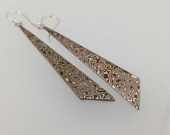 Mokume Earrings