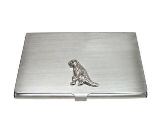 T Rex Dinosaur Business Card Holder