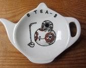 BB8 tea bag tidy - Star Wars Homewares - Spoon rest