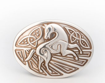 Celtic Horse Buckle