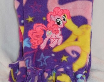 My Little Pony Themed Fleece Scarf Pinkie Pie