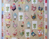 Hen house PDF appliqué pattern