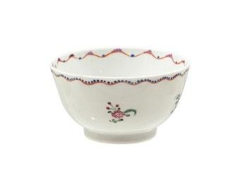 English Export Tea Bowl C.1780 [ U244]