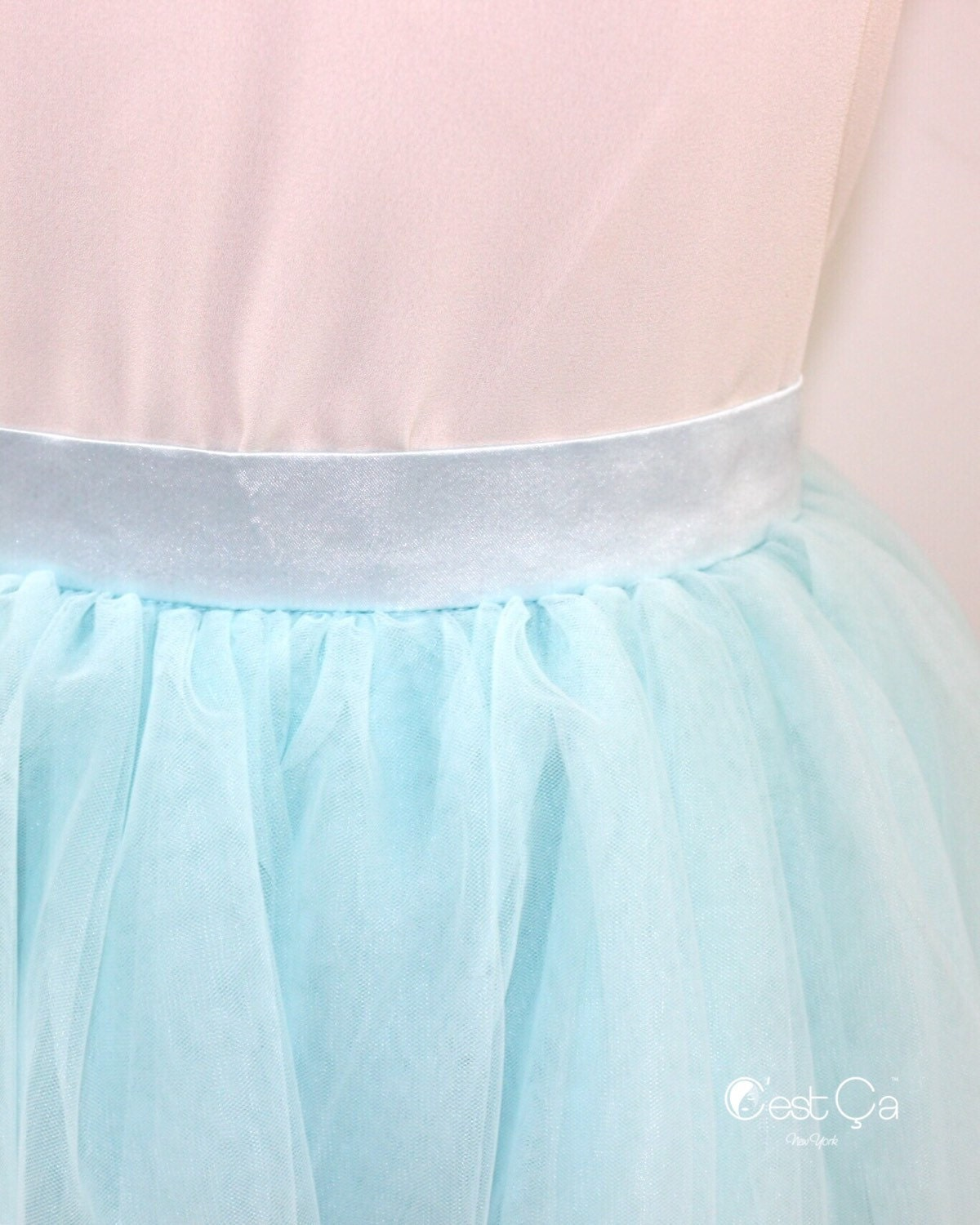 how to make a tulle skirt for baby