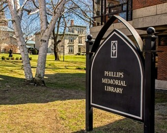 Photograph of Phillips Memorial Library at Providence College