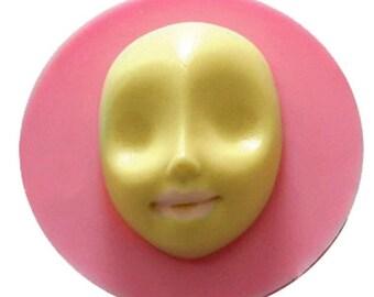 Silicone Fondant Face Mold