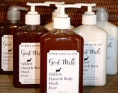 Goat Milk Liquid Hand Soap