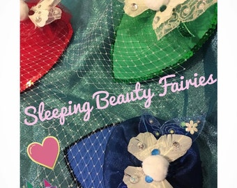Sleeping Beauty Fairy Fascinator