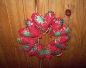 Christmas Heart Wreath