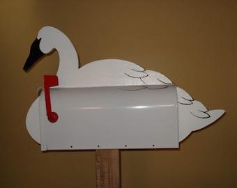 Bird mailboxes - Swan mailbox
