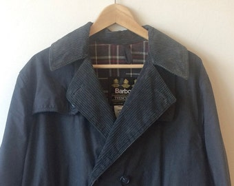 Vintage Barbour Trenchcoat Mens 38