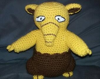 Drowzee Inspired Crochet Plushie