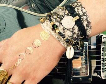 Lizard Queen Charm Cuff & Wrist Wrap