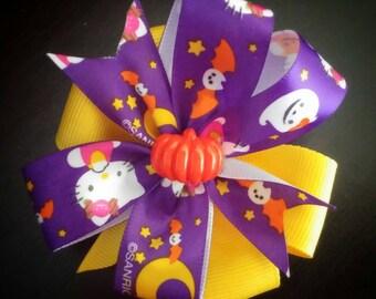 Purple Hello Kitty Halloween