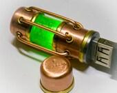 steampunk Flash drive 32 GB USB 3.0 glow in dark