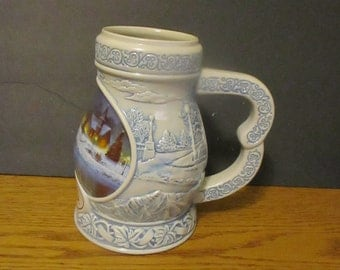 Collectible  Coors Stein / mug Seassons Of The Heart