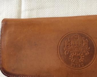 Vintage Leather CELLE Pencil Case