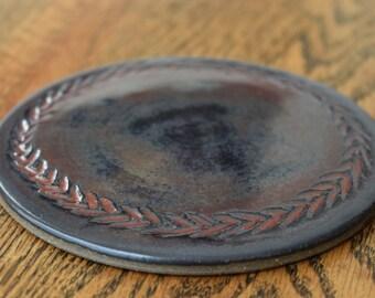 Spatula Rest/Coaster in Ancient Jasper