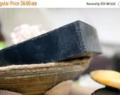 ON SALE Bamboo Activated Charcoal Soap, Black Soap, Handmade Soap, Detox Soap, Facial Soap, unisex, for men, 4oz.