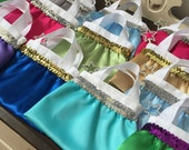 Princess Bag/ American Girl Bag/ Tote- Party Favor- Small- Mini- CHOOSE your own colors